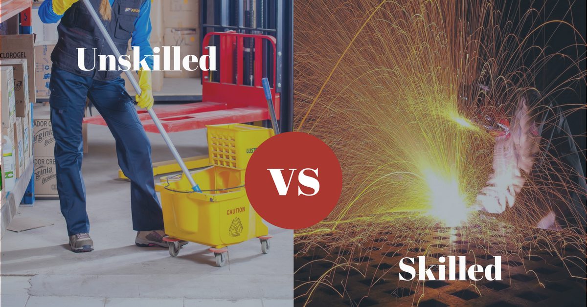 The Difference Between Skilled and Unskilled Labor